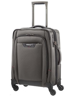 Samsonite Serie Pro-Dlx 4 Business, Spinner Equipaje de cabina expansible